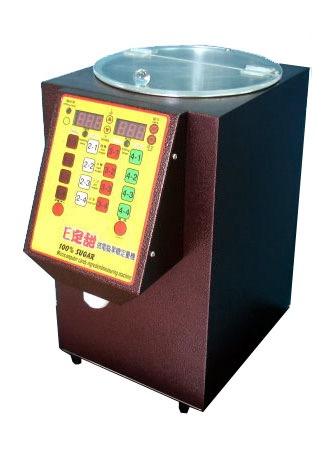 奶茶店设备:果糖定量机器
