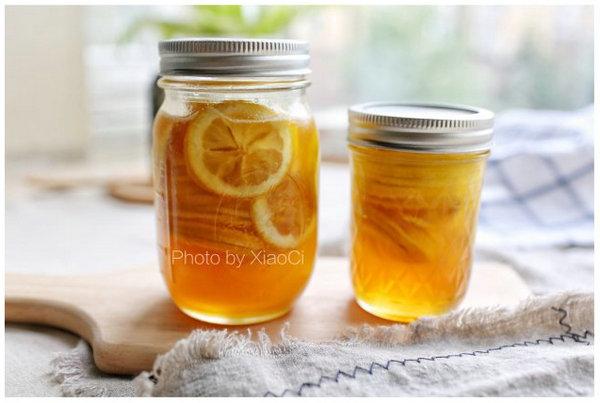 蜂蜜柠檬的做法、蜜柠檬汽泡水的做法