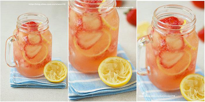 草莓柠檬Punch潘趣酒的做法
